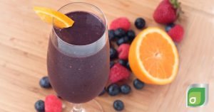 Citrus Berry Breakfast Smoothie